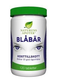 Bild på Blåbär 120 tabletter