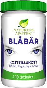 Bild på Naturens Apotek Blåbär 120 tabletter