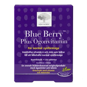Bild på Blue Berry Plus Ögonvitamin 120 tabletter