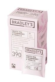 Bild på Bradley's Te White Strawberry Vanilla 25 p