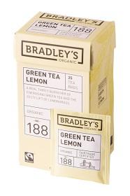 Bild på Bradley's Green Tea Lemon 25 st