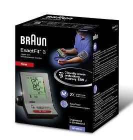 Bild på Braun ExactFit 3 Blodtrycksmätare BP 6100