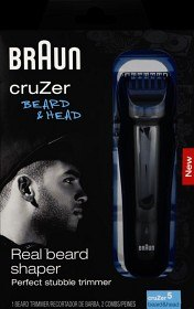 Bild på Braun Cruzer 5 Beard & Head trimmer
