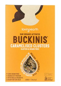 Bild på Buckinis Caramelised Clusters 400 g