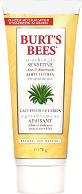 Bild på Burt's Bees Soothingly Sensitive Aloe & Buttermilk Lotion 170 g