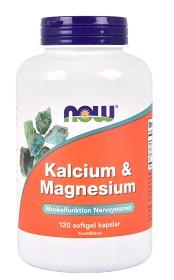 Bild på NOW Kalcium & Magnesium 120 kapslar