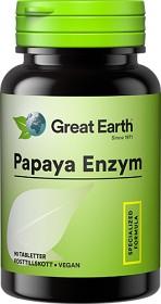 Bild på Great Earth Papaya 90 tabletter