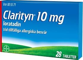 Bild på Clarityn tablett 10 mg 28 st
