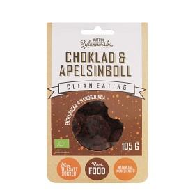 Bild på Clean Eating Choklad & Apelsinboll 105 g