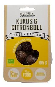 Bild på Clean Eating Kokos & Citronboll 105 g