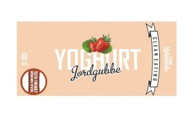 Bild på Clean Eating Yoghurtchoklad Jordgubbe 100 g