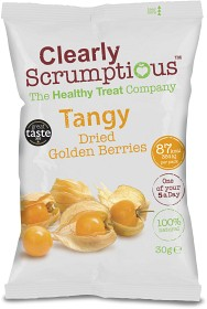 Bild på Clearly Scrumptious Tangy Dried Golden Berries 30 g