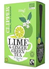 Bild på Clipper Green Tea Lime & Ginger 20 st