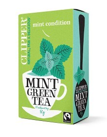 Bild på Clipper Green Tea with Mint 20 st