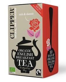 Bild på Clipper Organic English Breakfast 20 tepåsar