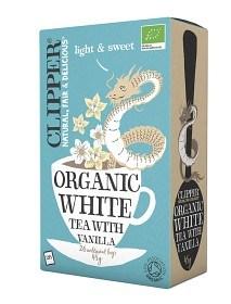 Bild på Clipper Organic White Tea Vanilla 26 st