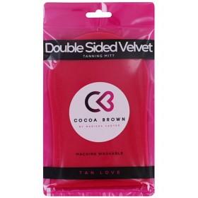 Bild på Cocoa Brown Deluxe Velvet Double-Sided Tanning Mitt