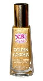Bild på Cocoa Brown Golden Goddess Shimmering Dry Body Oil