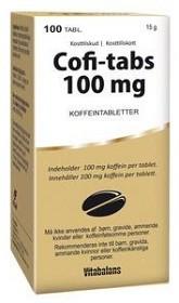 Bild på Cofi-tabs 100 mg 100 tabletter