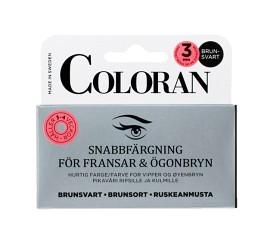 Bild på Coloran snabbfärgning ögonbryn & fransar Brunsvart