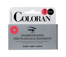 Bild på Coloran snabbfärgning ögonbryn & fransar Svart