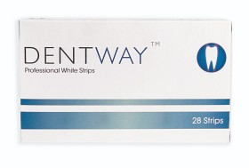 Bild på Dentway Whitening Strips 28 st