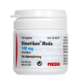 Bild på Dimetikon Meda, kapsel, mjuk 100 mg 100 st