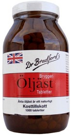 Bild på Dr Bradfords Öljäst 1000 tabletter