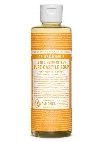 Bild på Dr Bronner Citrus Orange Liquid Soap 236 ml