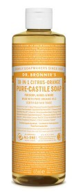 Bild på Dr Bronner Citrus Orange Liquid Soap 475 ml