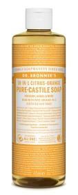 Bild på Dr Bronner Citrus Orange Liquid Soap 475 ml