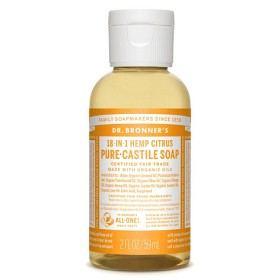 Bild på Dr Bronner Citrus Orange Liquid Soap 59 ml