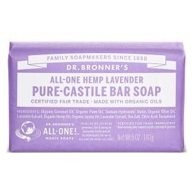 Bild på Dr Bronner Lavender Bar Soap