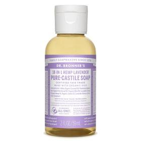 Bild på Dr Bronner Lavender Liquid Soap 59 ml