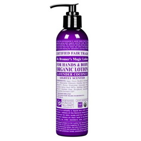 Bild på Dr Bronner Lavender & Coconut Body Lotion 237 ml