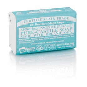 Bild på Dr Bronner Mild Unscented Bar Soap