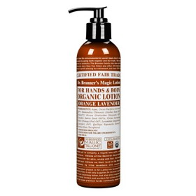 Bild på Dr Bronner Orange & Lavender Body Lotion 237 ml