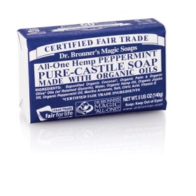Bild på Dr Bronner Peppermint Bar Soap