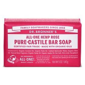Bild på Dr Bronner Rose Bar Soap