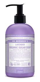 Bild på Dr Bronner Lavender Organic Sugar Soap 355 ml