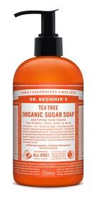 Bild på Dr Bronner Tea Tree Organic Sugar Soap 355 ml