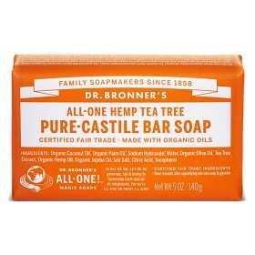 Bild på Dr Bronner Tea Tree Bar Soap