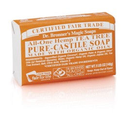 Bild på Dr Bronner Tea Tree Bar Soap