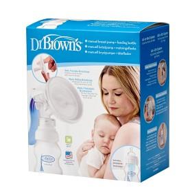 Bild på Dr Brown Bröstpump + nappflaska