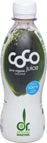 Bild på Dr Martins Coco Juice 330 ml