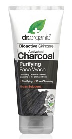 Bild på Dr Organic Activated Charcoal Face Wash 200 ml