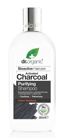 Bild på Dr Organic Activated Charcoal Shampoo 265 ml