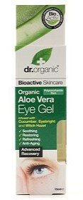 Bild på Dr Organic Aloe Vera Eye Gel 15 ml