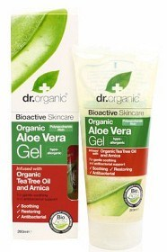 Bild på Dr Organic Aloe Vera Gel with Tea Tree Oil 200 ml