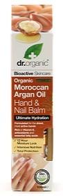 Bild på Dr Organic Moroccan Argan Oil Hand & Nail Balm 100 ml